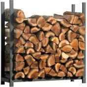 ShelterLogic® 90471 Ultra Duty Firewood Rack- Firewood Rack-In-A-Box, 4'L x 1-1/5'W x 3-8/9'H