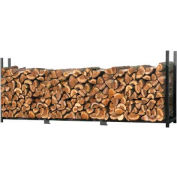 ShelterLogic® 90473 Ultra Duty Firewood Rack- Firewood Rack-In-A-Box, 12'L x 1-1/5'W x 3-8/9'H