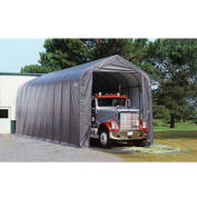 ShelterLogic, 95350, Peak Style Shelter 14 x ft. 20 x ft. 12 ft. Gray