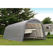 ShelterLogic, 95360, Round Style Shelter 14 x ft. 24 x ft. 12 ft. Gray