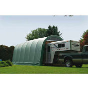 ShelterLogic, 95361, Round Style Shelter 14 x ft. 24 x ft. 12 ft. Green