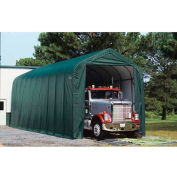 ShelterLogic, 95371, Peak Style Shelter 14 x ft. 24 x ft. 12 ft. Green