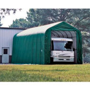 14x44x16 Peak Style Shelter - Green