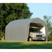 ShelterLogic Barn Style Shelter 12' x 24' x 9' Gray