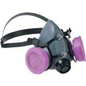 5500 Series Low Maintenance Half Mask Respirators, NORTH SAFETY 550030S