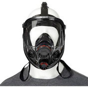 7600 Series Silicone Full Facepiece Respirators, NORTH SAFETY 760008A