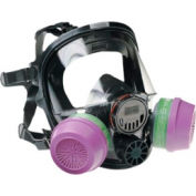 7600 Series Silicone Full Facepiece Respirators, NORTH SAFETY 760008AS