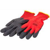 NorthFlex Red™ Nylon with Foam PVC, Gloves, NF11/9L, 12 Pair - Pkg Qty 12