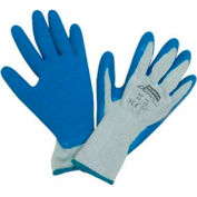 Duro Task Supported Natural Rubber Gloves, NORTH SAFETY NF14/8M, 12-Pair