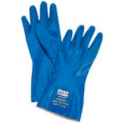 Nitri-Knit Supported Nitrile Gloves, NORTH SAFETY NK803/10, 12-Pair