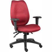 High Back Task Chair - Burgundy