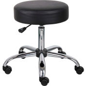 Caressoft Vinyl Medical Stool Black