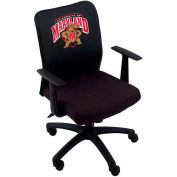 University of Maryland® - Task Chair - Logo Cover , T-Arms