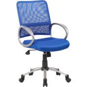 Boss Mesh Back Task Chair - Blue Finish