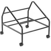 Boss Black Polished Steel Dolly For 1400 Series Stack Chairs
