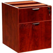 Boss 2 Hanging Pedstal - 3/4 Box/File, Mahogany