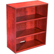 Boss Open Hutch/Bookcase, Cherry