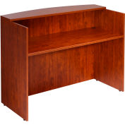"Boss Reception Desk - 48""  - Cherry"