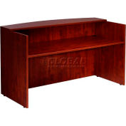 "Boss Reception Desk - 71""  - Mahogany"