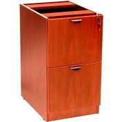 Boss Full Pedestal File/File, Cherry
