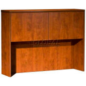 "Boss Hutch With 2 Doors, 48""x 12"" x36"", Cherry"