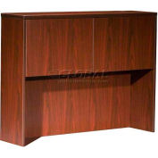 "Boss Hutch With 2 Doors, 48""x 12"" x36"", Mahogany"