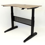 "Boss Height Adjustable Desk - 48""W x 26.5""D - Driftwood"