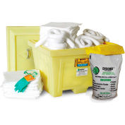 ENPAC® 1348-YE 95 Gallon Large Tote Combo Spill Kit - Aggressive