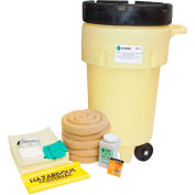 ENPAC® 50 Gallon Wheeled SpillPack Spill Kit, Aggressive, Yellow, 1451-YE