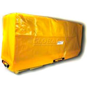 "Enpac HDPE Spill Containment Cover for 4-Drum In-Line Poly Spillpallet 3000 / 99-1/2""Lx33/4""Wx43""H"