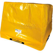 """Enpac HDPE Spill Containment Cover for 2-Drum Workstation, 60""""L x 39-1/4""""W x 43.3""""H - 5117-TARP"""