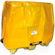 """Enpac HDPE Spill Containment Cover for 2-Drum Poly Spillpallet 2000, 60""""L x 39-1/4""""W x 43.3""""H"""