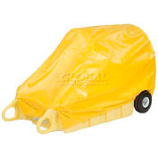 "Enpac HDPE Spill Containment Cover for Poly-Dolly, 71""L x 34""W x 26""H"