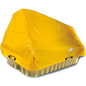 "Enpac HDPE Spill Containment Cover for Double IBC 4000I, 115""L x 75""W x 95""H"