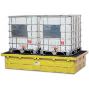 ENPAC® 5482-YE-D Double IBC Low-Top™ with Drain