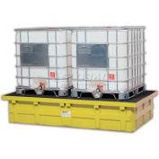 ENPAC® 5482-YE-D Double IBC Low-Top w/Drain