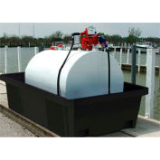 ENPAC® Poly-Tank Containment Unit 550 Gallon with Drain