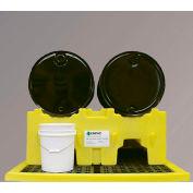ENPAC® 6004-YE Multi-Purpose Drum Stacker 4-Drum System No Drain