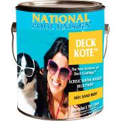 National Deck Kote™ Acrylic Waterbase Deck Paint, Sand Buff, Gallon, 1/Case - 6601-G