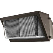 "Neptun LED-21100FLD-UNV 100W Flood LED 18"" Wall Pack with tempered glass lens"