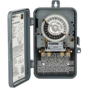 NSI TORK® 1101B-P 24 Hour Time Switch, 40A, 120V, SPST, Indoor/Outdoor Plastic Enclosure