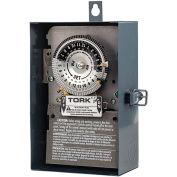 NSI TORK® 1104B-O 24 Hour Time Switch, 40A, 208-277V, DPST,NEMA 3 Indoor/Outdoor Metal Enclosure
