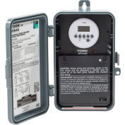 NSI TORK® DTU40 7 Day Digital Time Switch, 40A, 120-277V, DPDT, In/Out Polycarbonate Enclosure