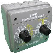 NSI TORK® EJWT Adjustable Percentage Timer, 24 Hour Maximum, 20A, 120-240V, Indoor NEMA 4X Encl