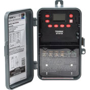 NSI TORK® E101B 24 Hour Digital 1 Channel, 40A, 120-277V, SPST, Indoor/Outdoor Plastic Enclosure