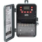 NSI TORK® EWZ101Astronomic 7-Day Digital Time Switch, One Channel, 40A, 120-277V, SPST