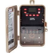 NSI TORK® EWZ120 Astronomic 7-Day Digital Time Switch One Channel 30A 120-277V SPDT