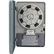 NSI TORK® W100 7 Day Time Switch, 40A, 120V, SPST, Indoor Enclosure