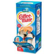 Nestle® Coffee-Mate Non-Dairy Liquid Creamer, Singles, French Vanilla, 0.375 oz., 50/Box