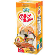 Nestle® Coffee-Mate Non-Dairy Liquid Creamer Singles, Hazelnut, 0.375 oz., 50/Box